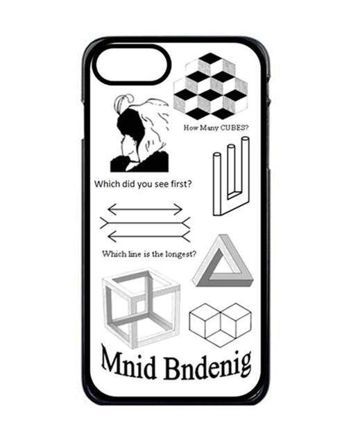 Optical Illusion Iphone 8 Case Create Your Own Gift